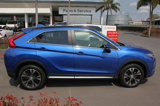 2018 Mitsubishi Eclipse Cross YA MY18 LS 2WD Blue 8 Speed Constant Variable Wagon.