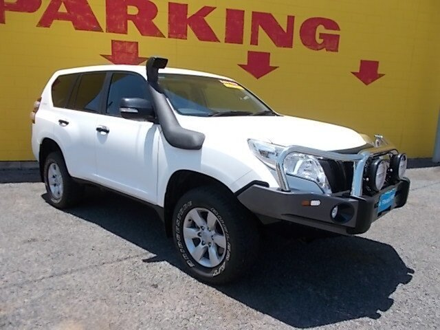 Used Toyota Landcruiser Prado KDJ150R MY14 GX, 2014 Toyota Landcruiser Prado KDJ150R MY14 GX White 6 Speed Manual Wagon