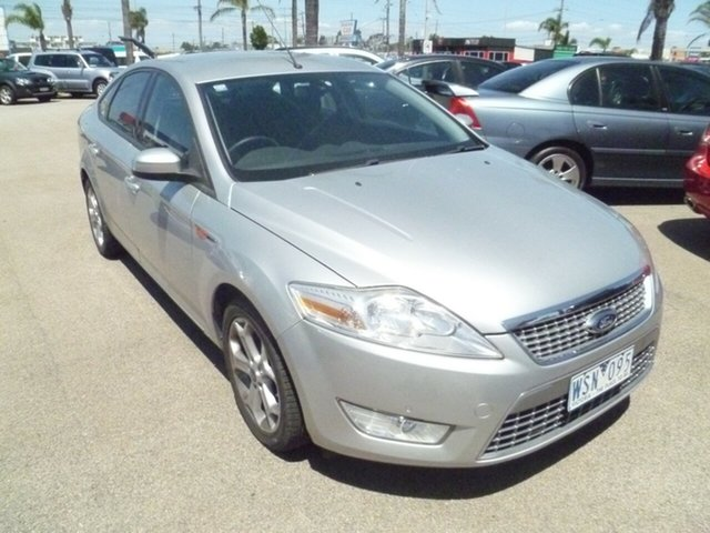 Used Ford Mondeo MA TDCi, 2008 Ford Mondeo MA TDCi Silver 6 Speed Sports Automatic Hatchback