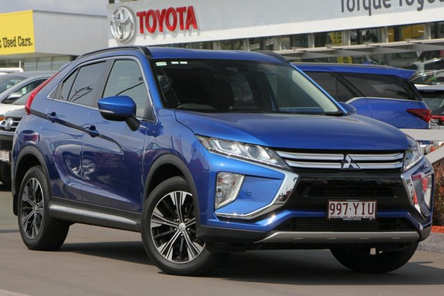 Used Mitsubishi Eclipse Cross YA MY18 LS 2WD, 2018 Mitsubishi Eclipse Cross YA MY18 LS 2WD Blue 8 Speed Constant Variable Wagon