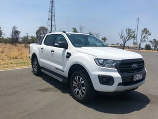 2019 Ford Ranger PX MkIII 2019.75MY Wildtrak Pick-up Double Cab Arctic White 6 Speed.