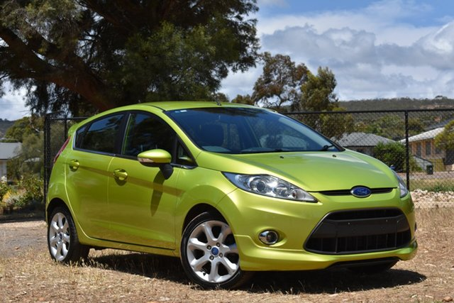 Used Ford Fiesta WS Zetec, 2010 Ford Fiesta WS Zetec Green 5 Speed Manual Hatchback