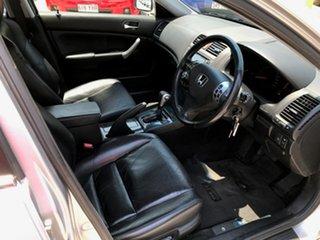 2004 Honda Accord Euro CL Luxury Silver 5 Speed Automatic Sedan.