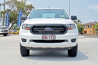 2019 Ford Ranger PX MkIII 2019.00MY XL Double Cab White 6 Speed Sports Automatic Cab Chassis.