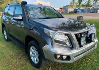 2014 Toyota Landcruiser Prado KDJ150R MY14 GXL Grey 5 Speed Sports Automatic Wagon.