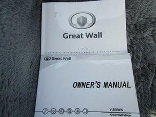 2014 Great Wall V240 K2 MY11 (4x2) 5 Speed Manual Dual Cab Utility