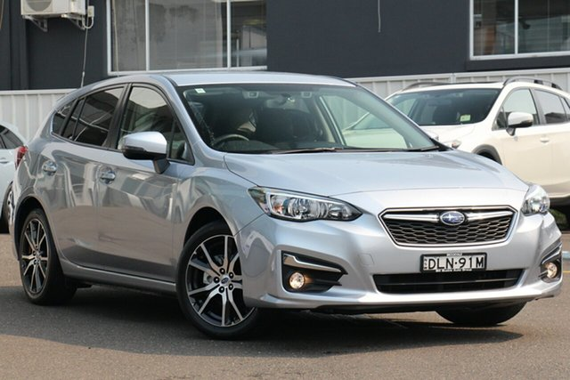 Used Subaru Impreza G5 MY17 2.0i-L CVT AWD, 2016 Subaru Impreza G5 MY17 2.0i-L CVT AWD Silver 7 Speed Constant Variable Hatchback