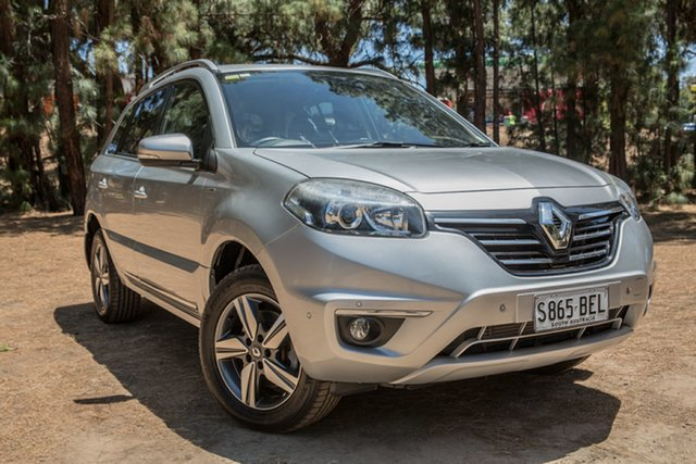 Used Renault Koleos H45 Phase II Bose Special Edition, 2013 Renault Koleos H45 Phase II Bose Special Edition Silver 1 Speed Constant Variable Wagon