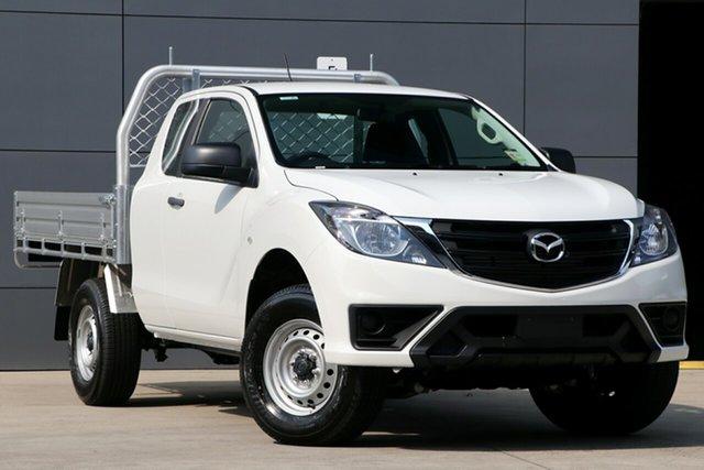 New Mazda BT-50 UR0YG1 XT Freestyle 4x2 Hi-Rider, 2019 Mazda BT-50 UR0YG1 XT Freestyle 4x2 Hi-Rider Cool White 6 Speed Manual Cab Chassis