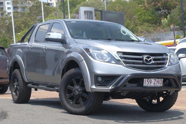 Demo Mazda BT-50 UR0YG1 GT, 2019 Mazda BT-50 UR0YG1 GT Aluminium 6 Speed Sports Automatic Utility