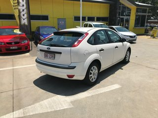 2008 Ford Focus LT LX White 5 Speed Manual Hatchback
