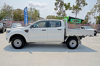 2019 Ford Ranger PX MkIII 2019.00MY XL Double Cab White 6 Speed Sports Automatic Cab Chassis