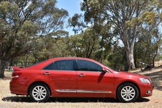 2009 Toyota Aurion GSV40R Prodigy Red 6 Speed Sports Automatic Sedan.