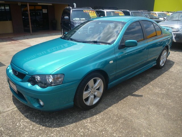 Used Ford Falcon BF Mk II XR6, 2007 Ford Falcon BF Mk II XR6 Green 4 Speed Sports Automatic Sedan