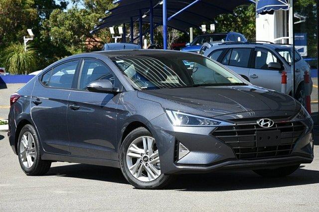 New Hyundai Elantra AD.2 MY20 Active, 2019 Hyundai Elantra AD.2 MY20 Active Iron Gray 6 Speed Sports Automatic Sedan