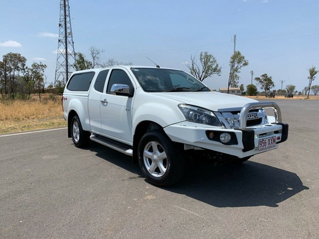 Used Isuzu D-MAX MY15 LS-U Space Cab, 2014 Isuzu D-MAX MY15 LS-U Space Cab White 5 Speed Sports Automatic Utility