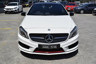 2013 Mercedes-Benz A-Class W176 A250 D-CT Sport White 7 Speed Sports Automatic Dual Clutch Hatchback.