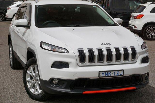 Used Jeep Cherokee KL MY16 Longitude, 2016 Jeep Cherokee KL MY16 Longitude White 9 Speed Sports Automatic Wagon