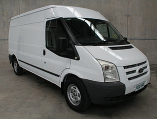 2013 Ford Transit VM MY13 350 Mid Roof LWB White 6 speed Manual Van.
