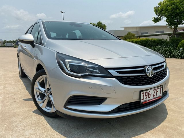 Used Holden Astra BK MY18 LT Sportwagon, 2018 Holden Astra BK MY18 LT Sportwagon Silver 6 Speed Sports Automatic Wagon