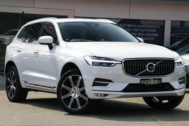 Used Volvo XC60 246 MY18 D4 Inscription (AWD), 2018 Volvo XC60 246 MY18 D4 Inscription (AWD) Ice White 8 Speed Automatic Geartronic Wagon