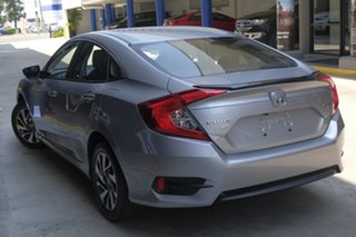 2019 Honda Civic 10th Gen MY19 50 Years Edition Lunar Silver 1 Speed Constant Variable Sedan.