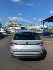 2019 Skoda Kodiaq NS MY19 132TSI DSG Silver 7 Speed Sports Automatic Dual Clutch Wagon