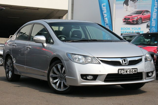 Used Honda Civic 8th Gen MY10 Sport, 2010 Honda Civic 8th Gen MY10 Sport Silver 5 Speed Automatic Sedan