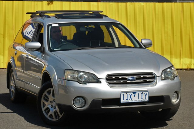 Used Subaru Outback MY05 2.5i AWD, 2005 Subaru Outback MY05 2.5i AWD Silver 5 Speed Manual Wagon