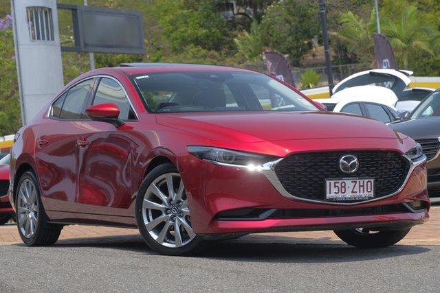 Demo Mazda 3 BP2SLA G25 SKYACTIV-Drive Astina, 2019 Mazda 3 BP2SLA G25 SKYACTIV-Drive Astina Soul Red Crystal 6 Speed Sports Automatic Sedan