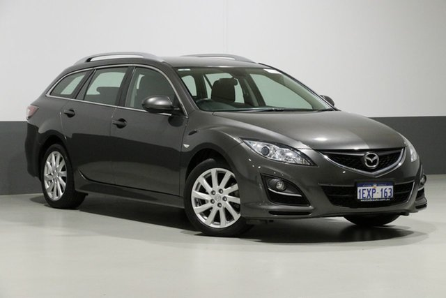 Used Mazda 6 GH MY09 Classic, 2010 Mazda 6 GH MY09 Classic Grey 5 Speed Auto Activematic Wagon