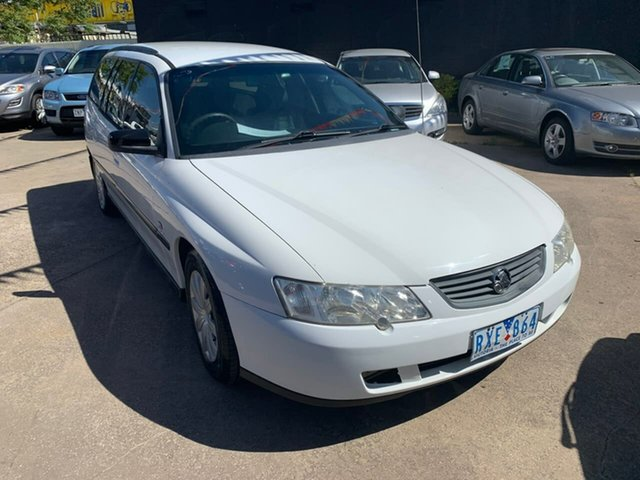 Used Holden Commodore VX II Executive, 2002 Holden Commodore VX II Executive White 4 Speed Automatic Wagon