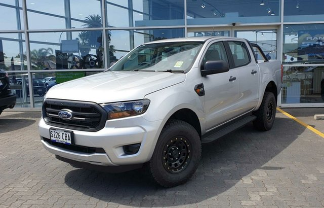 Demo Ford Ranger PX MkIII 2019.00MY XL Pick-up Double Cab, 2018 Ford Ranger PX MkIII 2019.00MY XL Pick-up Double Cab Ingot Silver 6 Speed Sports Automatic
