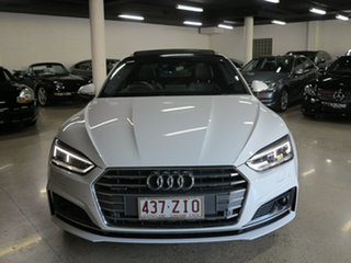2017 Audi A5 F5 MY18 Sport S Tronic Quattro White 7 Speed Sports Automatic Dual Clutch Coupe