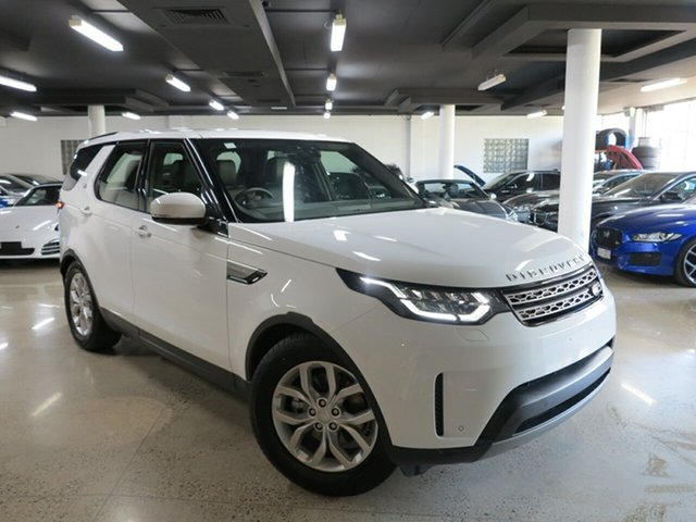 Used Land Rover Discovery Series 5 L462 MY19 SD4 SE, 2019 Land Rover Discovery Series 5 L462 MY19 SD4 SE Fuji White 8 Speed Sports Automatic Wagon
