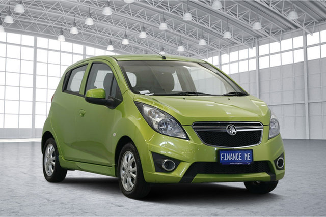 Used Holden Barina Spark MJ MY15 CD, 2014 Holden Barina Spark MJ MY15 CD Green 4 Speed Automatic Hatchback