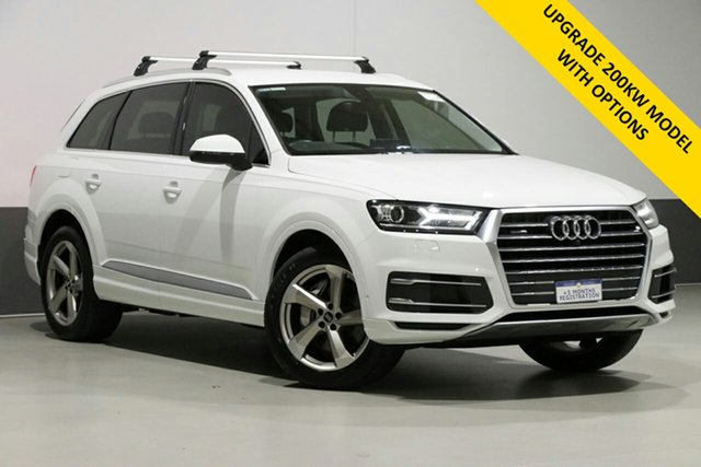 Used Audi Q7 4M MY18 3.0 TDI Quattro, 2018 Audi Q7 4M MY18 3.0 TDI Quattro Carrara White 8 Speed Automatic Tiptronic Wagon