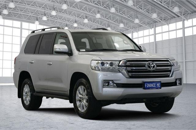 Used Toyota Landcruiser VDJ200R VX, 2019 Toyota Landcruiser VDJ200R VX Silver 6 Speed Sports Automatic Wagon