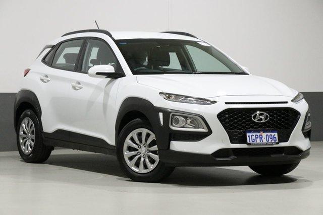 Used Hyundai Kona OS.2 MY19 GO (FWD), 2018 Hyundai Kona OS.2 MY19 GO (FWD) White 6 Speed Automatic Wagon