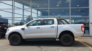 2018 Ford Ranger PX MkIII 2019.00MY XL Pick-up Double Cab Ingot Silver 6 Speed Sports Automatic