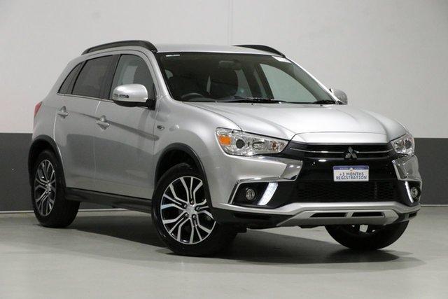Used Mitsubishi ASX XC MY18 LS (2WD), 2018 Mitsubishi ASX XC MY18 LS (2WD) Silver Continuous Variable Wagon