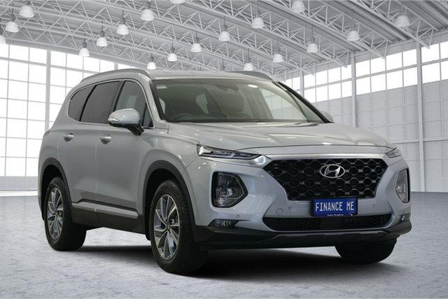Used Hyundai Santa Fe TM MY19 Elite, 2019 Hyundai Santa Fe TM MY19 Elite Silver 8 Speed Sports Automatic Wagon