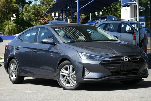 New Hyundai Elantra AD.2 MY20 Active, 2019 Hyundai Elantra AD.2 MY20 Active Iron Gray 6 Speed Sports Automatic Sedan