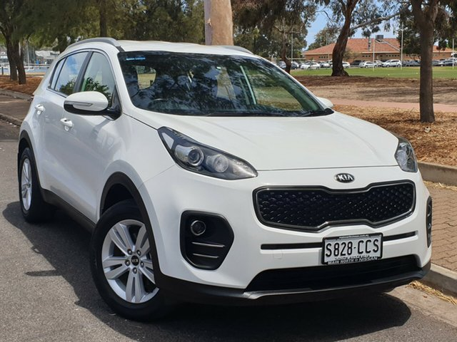 Used Kia Sportage QL MY17 Si 2WD, 2016 Kia Sportage QL MY17 Si 2WD White 6 Speed Sports Automatic Wagon