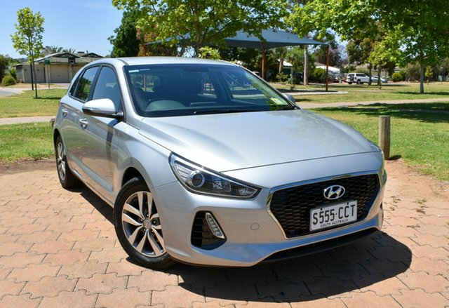 Demo Hyundai i30 PD2 MY19 Active, 2019 Hyundai i30 PD2 MY19 Active Typhoon Silver 6 Speed Sports Automatic Hatchback
