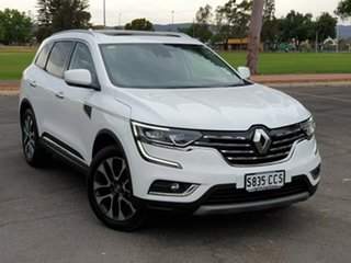 2019 Renault Koleos HZG Intens X-tronic White Solid 1 Speed Constant Variable Wagon.