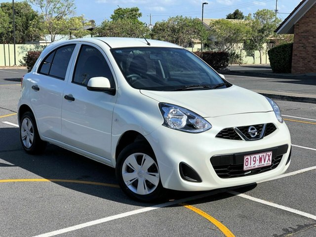 Used Nissan Micra K13 Series 4 MY15 ST, 2016 Nissan Micra K13 Series 4 MY15 ST White 4 Speed Automatic Hatchback