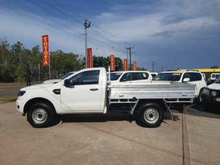 2017 Ford Ranger PX MkII 2018.00MY XL Super Cab 4x2 Hi-Rider White 6 Speed Sports Automatic