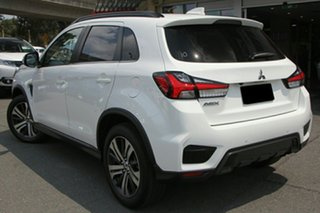 2020 Mitsubishi ASX XD MY21 Exceed 2WD White 1 Speed Constant Variable Wagon.