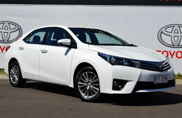 Used Toyota Corolla ZRE172R ZR, 2014 Toyota Corolla ZRE172R ZR Glacier White 7 Speed CVT Auto Sequential Sedan